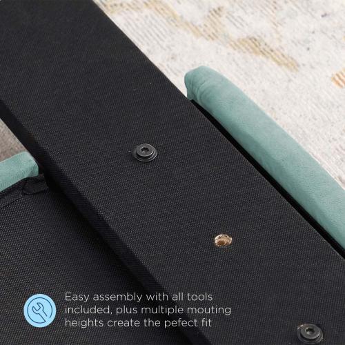 Modway - Juliet Tufted Twin Performance Velvet Headboard in Mint