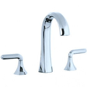 Hexa - Hi-Arch Widespread Lavatory Faucet - Polished Chrome