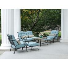 Oceana 6-Piece Seating Set in Ocean Blue - OCEANA6PC
