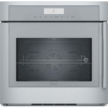 Single Wall Oven 30'' Door Hinge: Left, Stainless Steel MED301LWS