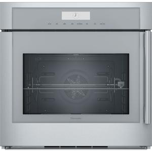 ThermadorSingle Wall Oven 30'' Masterpiece® Door Hinge: Left, Stainless Steel MED301LWS