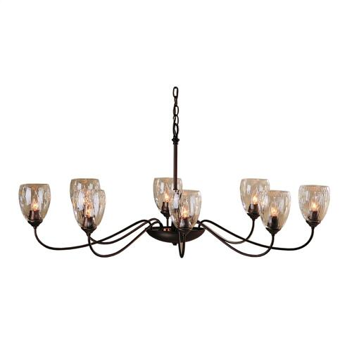 Hubbardton Forge - Oval Large 8 Arm Chandelier