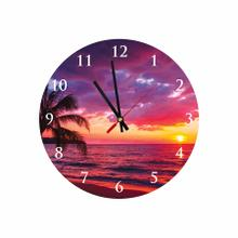 Beautiful Sunset Round Acrylic Wall Clock