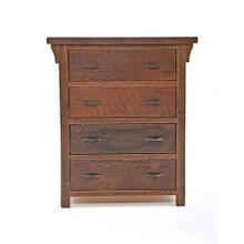 See Details - Oak Haven - 4 Drawer Dresser