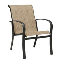 See Details - Fremont Sling Dining Armchair - Stackable