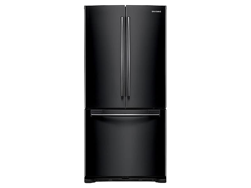 Samsung20 Cu. Ft. French Door Refrigerator In Black