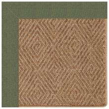 "Islamorada-Diamond Canvas Fern - Rectangle - 24"" x 36"""