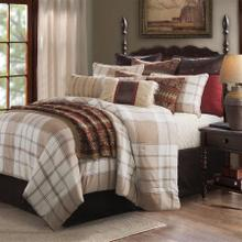 Wilson 3-pc Plaid Bedding Set, White U0026 Khaki - King