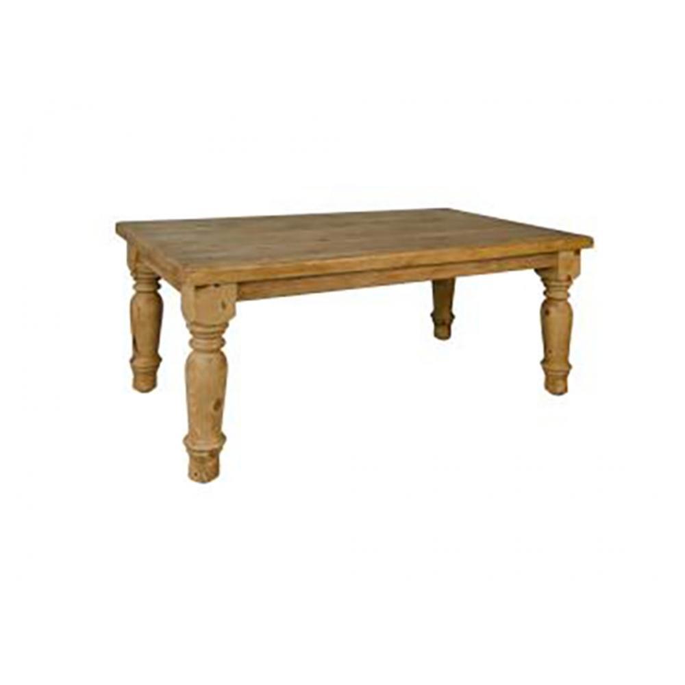 """See Details - Rustic Santa Rita 72"""" Table"""