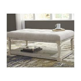 Shawnalore Ottoman Cocktail Table Whitewash