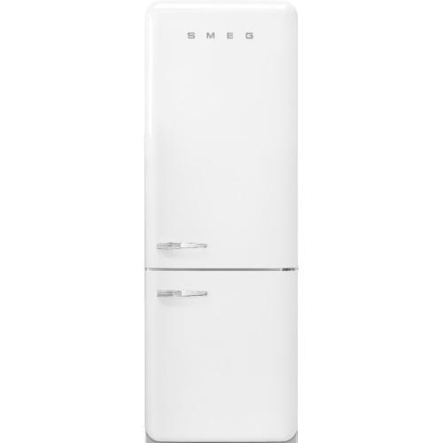 18 cu. ft. retro-style fridge, White, Right-hand hinge