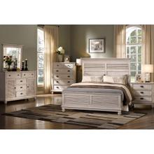 LAKEPORT 6/6-6/0 EK/WK Headboard, Footboard & Slats