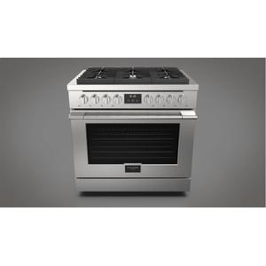 "Fulgor Milano36"" All Gas Range - Stainless Steel"