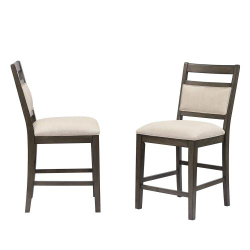 Barstool Upholstered - Fabric Back and Seat