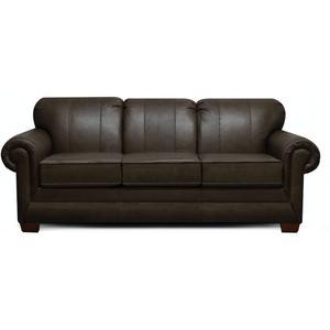 England Furniture1435LSR Monroe Leather Sofa