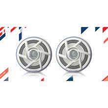"See Details - 6 "" - 2-way, 100w Max Power, Dual Cone, - Marine Speakers (pair)"