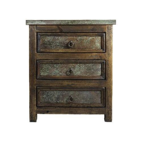 L.M.T. Rustic and Western Imports - Margarita Copper Nightstand