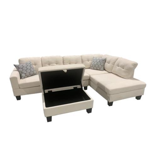 Corinthian Furniture - Webster-cream 2005-03LF