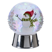 Snowman Dome Projection LED Night Light Product Image
