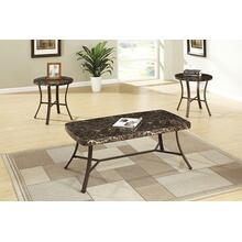 Shiva 3pc Coffee Table Set