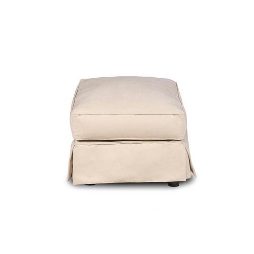 Horizon Slipcovered T-Cushion Chair w/Ottoman - Color: 391084