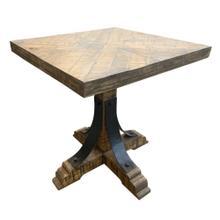Bengal Manor Iron Trestle Base End Table