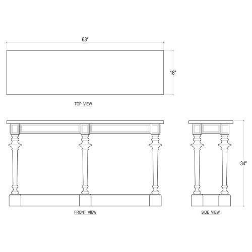 Clapham Console Table