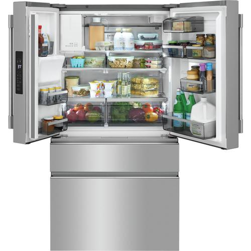Frigidaire Professional 21.4 Cu. Ft. Counter-Depth 4-Door French Door Refrigerator