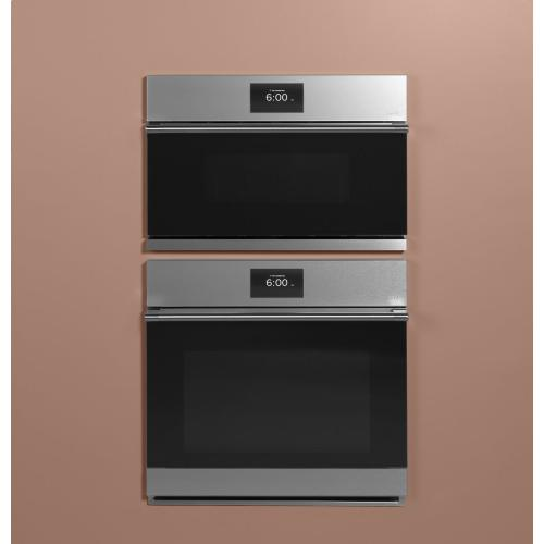 "Cafe 27"" Smart Five in One Oven with 120V Advantium ® Technology in Platinum Glass"