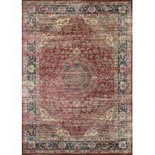 See Details - Zahara Persian Vase - Red-Black-Oatmeal 0428/0280