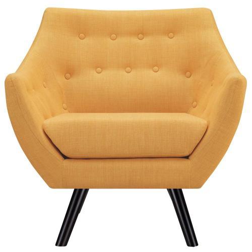Modway - Allegory Armchair in Mustard