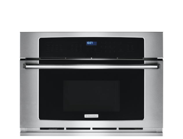 30'' Built-In Convection Microwave Oven with Drop-Down Door Photo #1