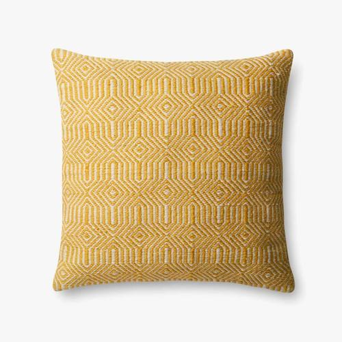 P0339 In/out Yellow / Ivory Pillow