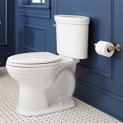 Dxv - Ashbee 2-Post Toilet Paper Holder - Platinum Nickel
