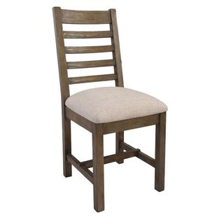 See Details - Caleb Upholstered Dining Chair Desert Grey