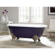 Carlton Cast Iron Bath With Flat Area for Faucet Holes