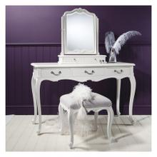 GA Chic Dressing Table Vanilla White