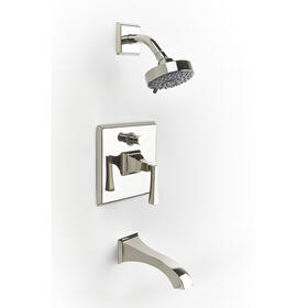 Tub and Shower Trim Leyden (series 14) Polished Nickel