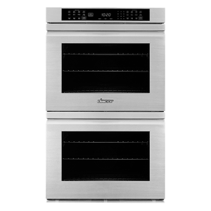 "Dacor27"" Double Wall Oven, Silver Stainless Steel with Flush Handle"