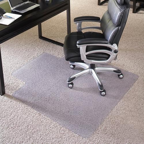 Flash Furniture - 36'' x 48'' Big & Tall 400 lb. Capacity Carpet Chair Mat with Lip