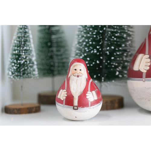 2.75'' x 3.5'' Rolypoly Santa