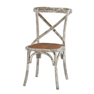 See Details - Brody X-back Side Chair (washed White)