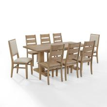 See Details - Joanna 9pc Dining Set