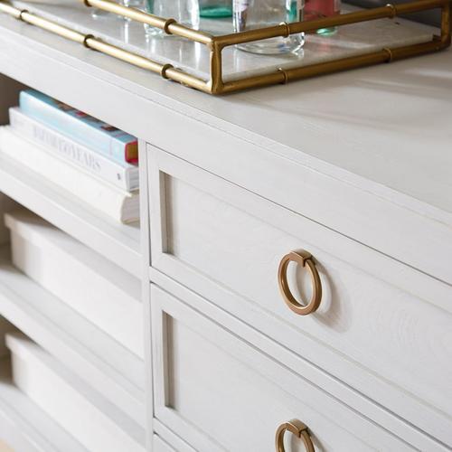 """Bassett Furniture - Ventura 84"""" Drawer Credenza"""