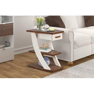 See Details - Wedge End Table