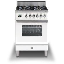 24 Inch True White Liquid Propane Freestanding Range