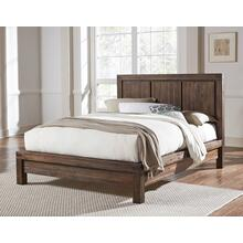 Meadow Queen Platform Bed with Graphite Finish