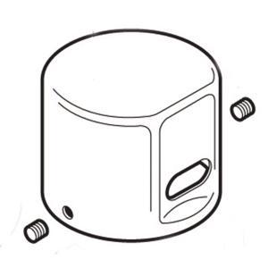 Commercial dc flush valve cap Product Image