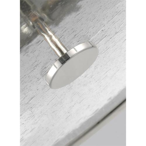 Harrow Large Semi-Flush Mount Polished Nickel