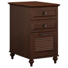 Volcano Dusk 3 Drawer File Cabinet - Coastal Cherry